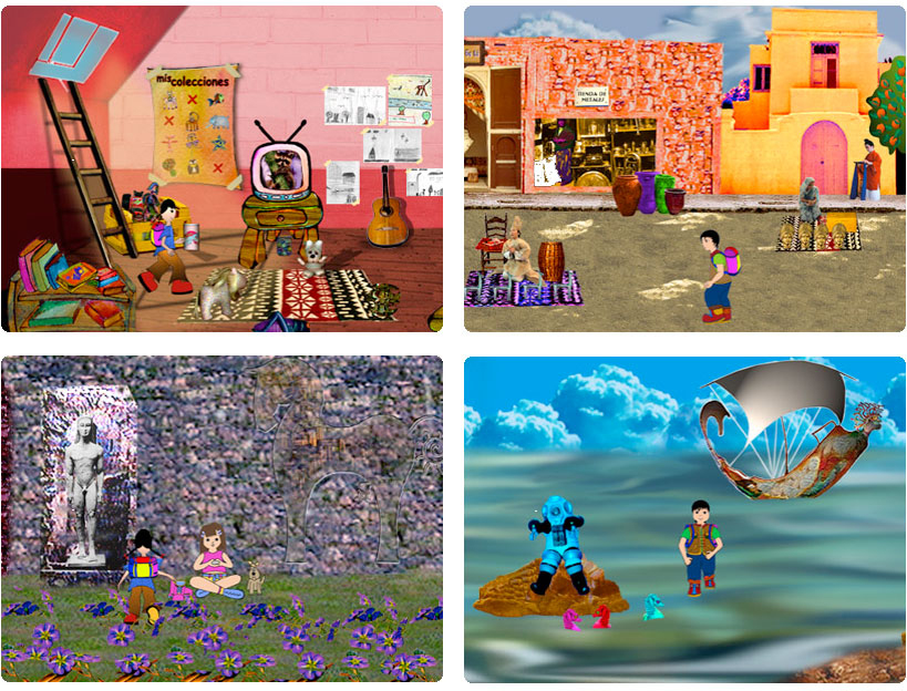 ciudad fantastica software screens