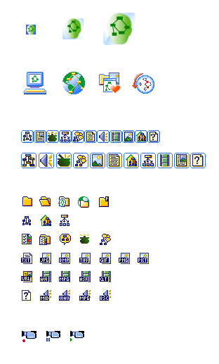 Cmaptools' icon set