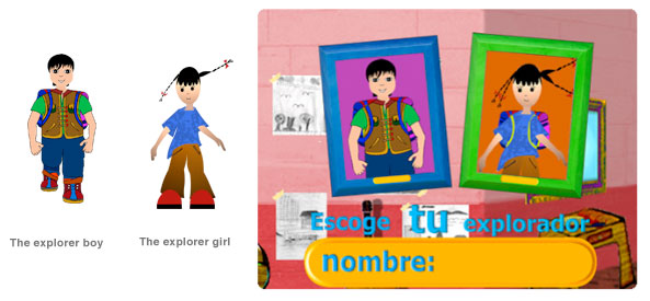 link image to the explorer's description
